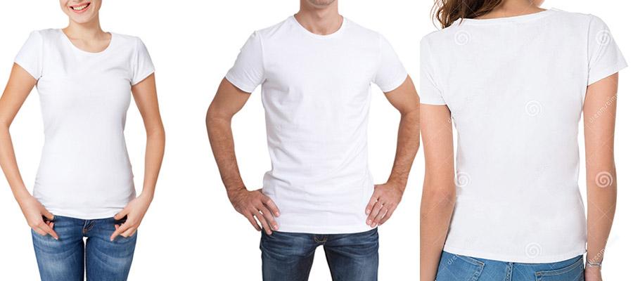 法式元素-白色T恤