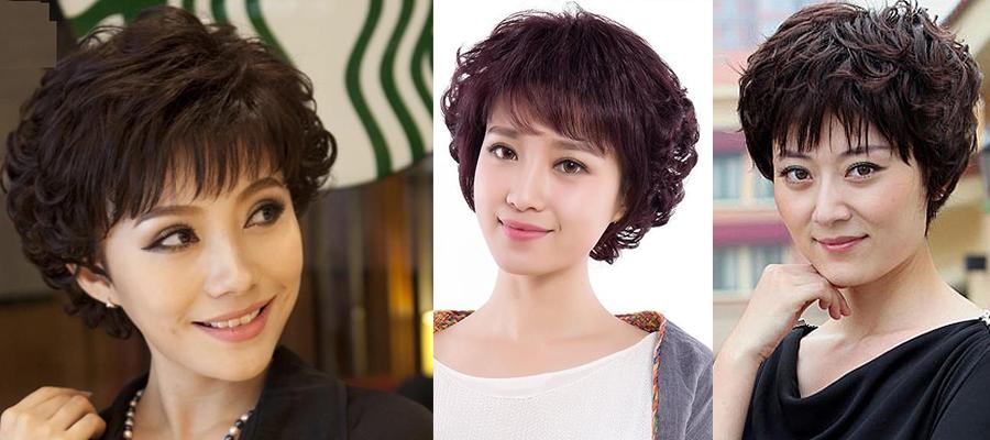 40至50岁女人短发发型-瓜子脸的头发型