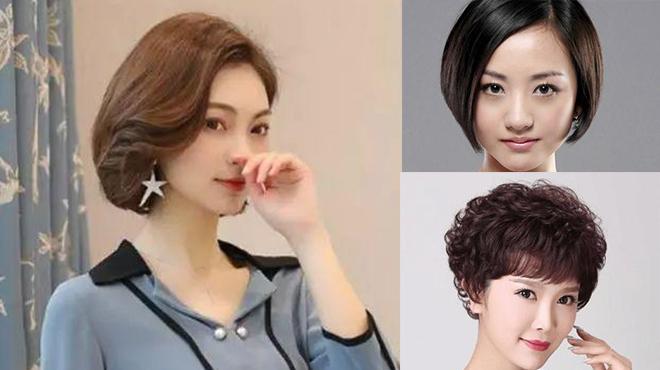 40至50岁女人短发发型-发型是40至50岁女人的第二张脸