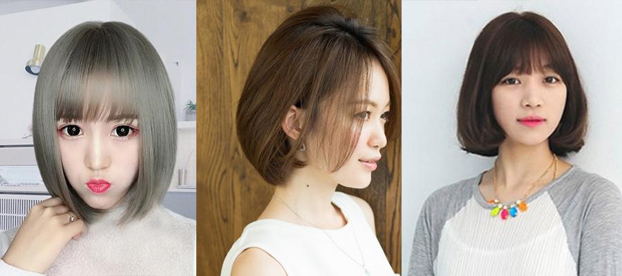 脸长的女生适合什么样的发型-短发波波头