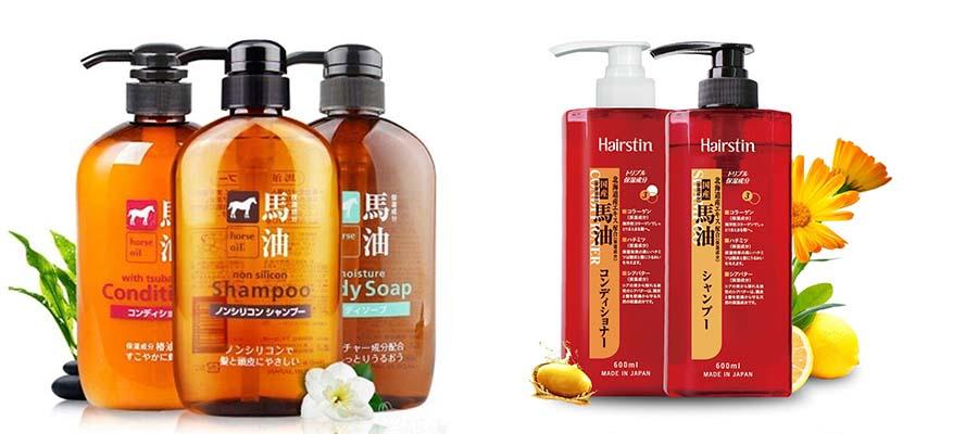 日本马油无硅油洗发水