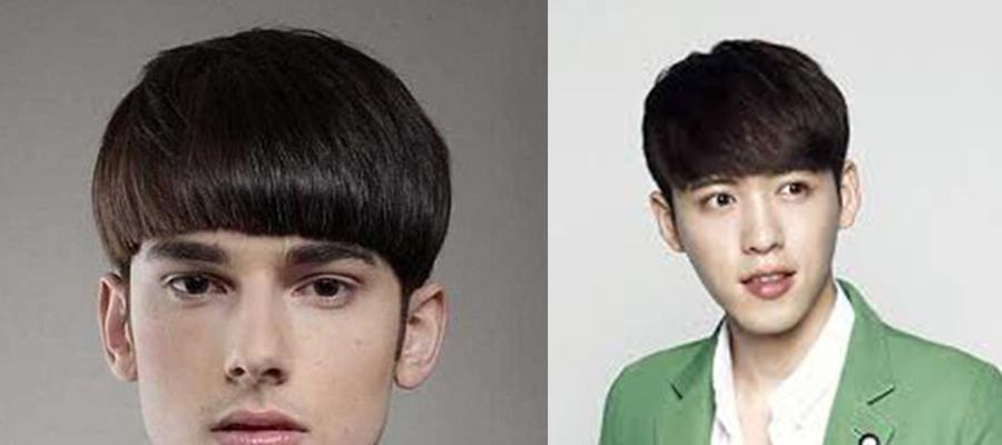 脸长的男人适合什么发型-平刘海男生短发发型