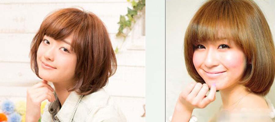 圆脸女生适合什么发型-短发