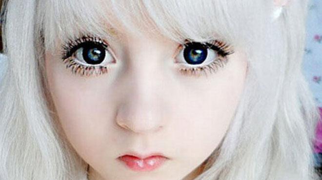 芭比无辜大眼妆的画法-女生喜爱立马从小眼妹变身可爱的芭比无辜大眼妆