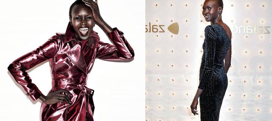 艾莉克·慧克-国外顶级模特征服时尚界的非洲女神黑珍珠