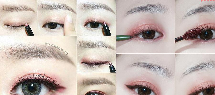 桃花眼妆-黑色眼线立体彰