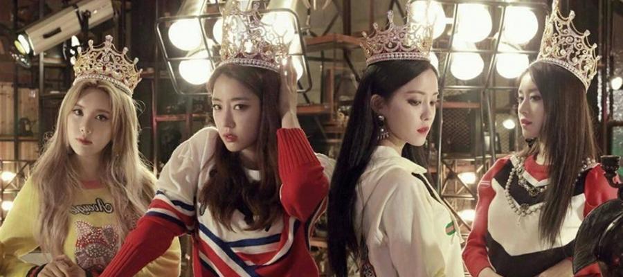 韩国人气明星T-ara团队