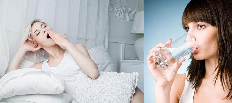 为什么有的女人不显老-多喝水有充足睡眠