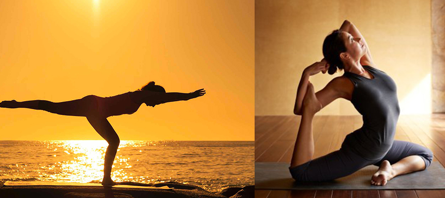 练瑜伽-提高柔韧性
