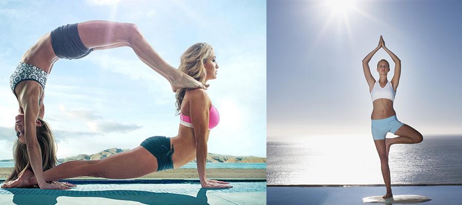 练瑜伽-塑造身材