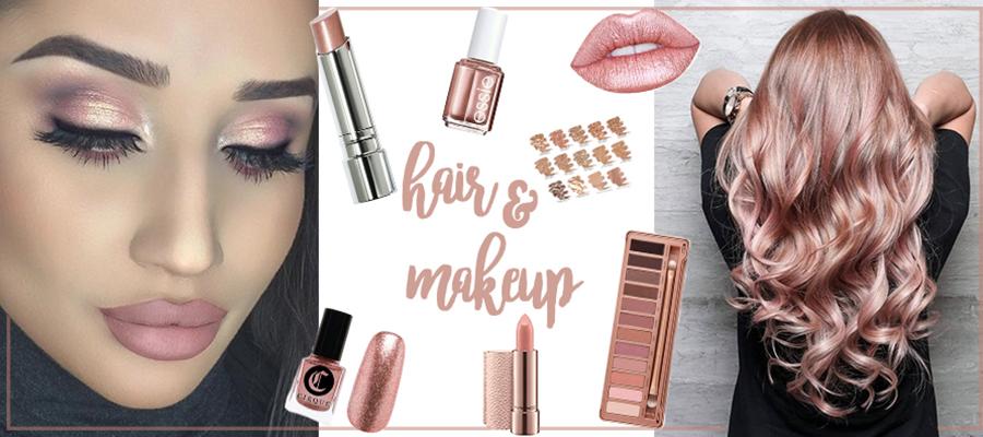 桃花粉容妆-化妆清单