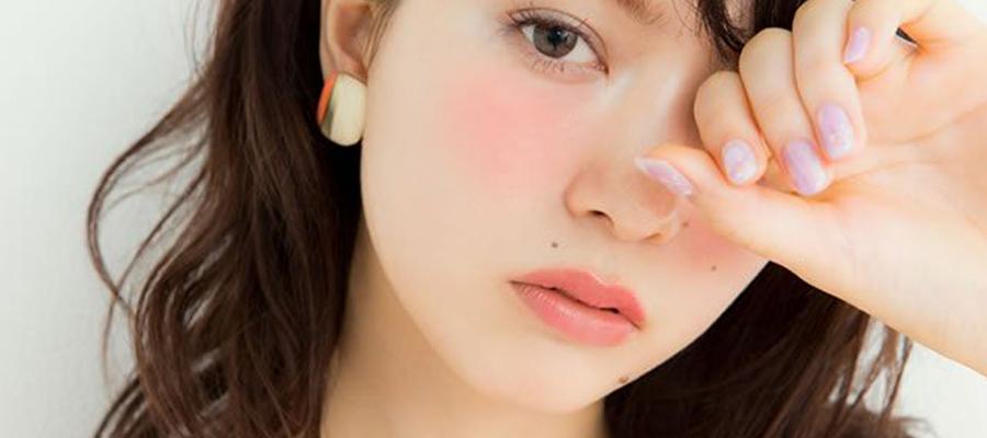 日系妆容腮红