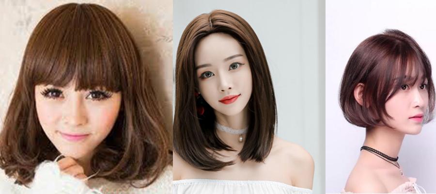 脸大头大的女生适合的短发