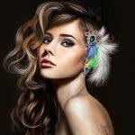 漂亮的女人-她们希望像春天里的春风吹拂在人的脸上这是女人温柔的性格