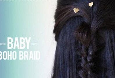 长发女大辫子-发型是女人的标识用心打理的一个富有诱惑性的外露部分