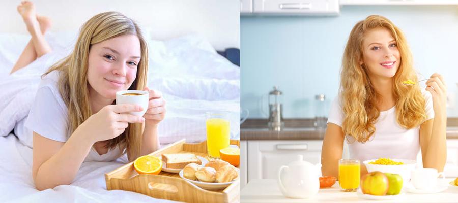 每天的早餐就是一种常态美