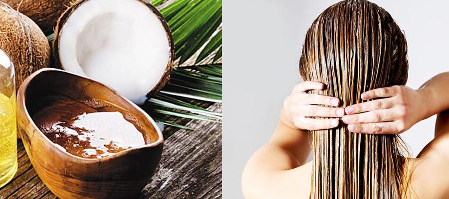 椰子油护发的正确方法